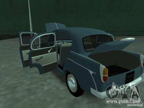 Moskvich 407 for GTA San Andreas side view