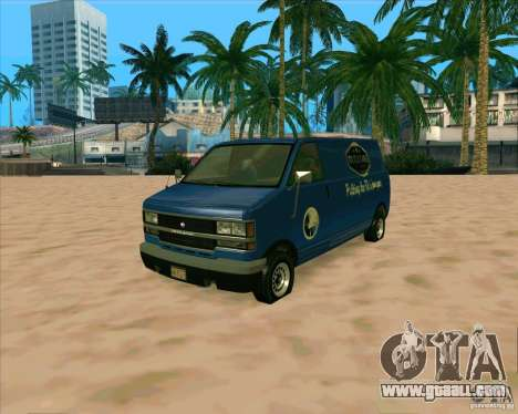 BUGSTARS Burrito from GTA IV for GTA San Andreas