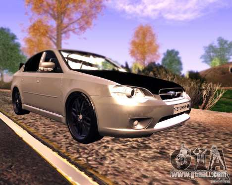 Subaru Legacy 3.0 R tuning v 2.0 for GTA San Andreas