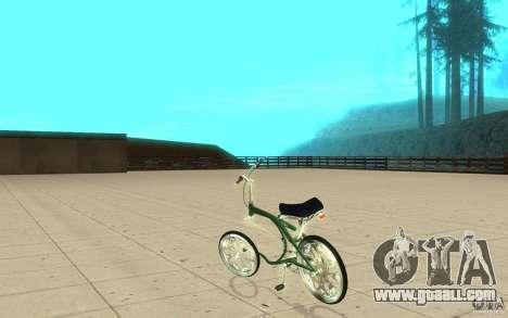 Custom Bike for GTA San Andreas back left view