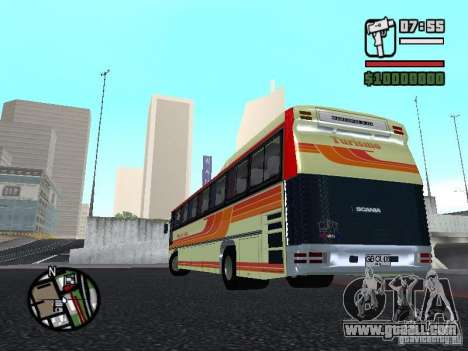 MARCOPOLO III SCANIA 112 for GTA San Andreas inner view