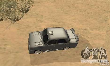 VAZ 2105 Night Hunter for GTA San Andreas inner view