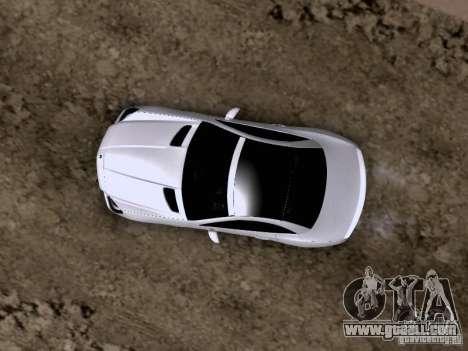 Mercedes-Benz SLK55 AMG 2012 for GTA San Andreas bottom view