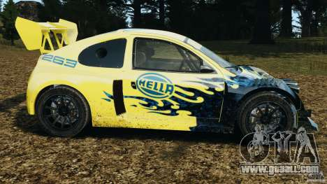 Colin McRae Hella Rallycross for GTA 4 left view