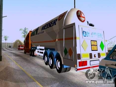 Trailer Renault Premium for GTA San Andreas