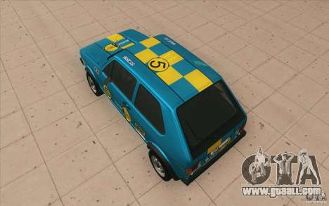 Volkswagen Golf Mk1 - Stock for GTA San Andreas