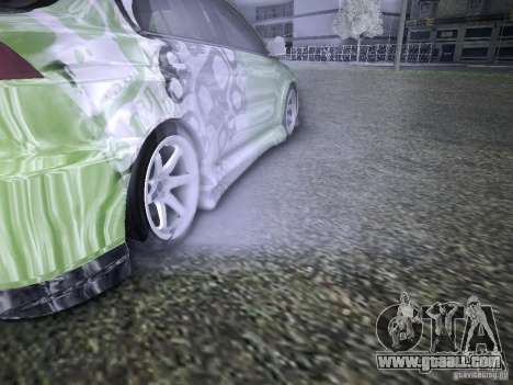 Mitsubishi Lancer Evolution X - Tuning for GTA San Andreas upper view