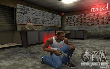 Barreta M9 and Barreta M9 Silenced for GTA San Andreas seventh screenshot