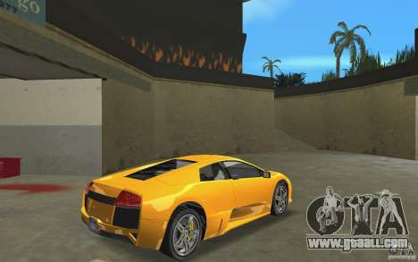 Lamborghini Murcielago LP640 for GTA Vice City right view