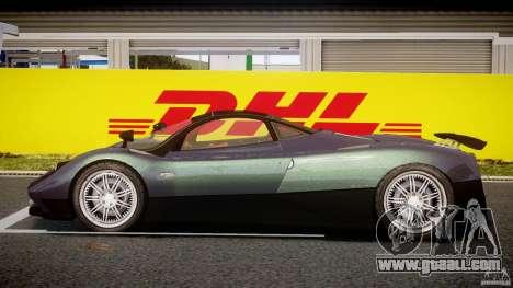 Pagani Zonda F for GTA 4 inner view