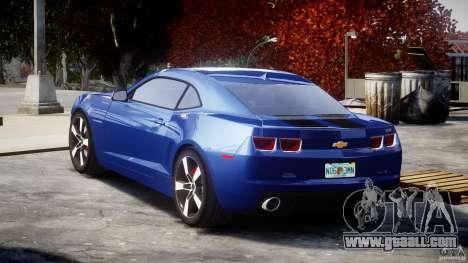 Chevrolet Camaro v1.0 for GTA 4 back left view