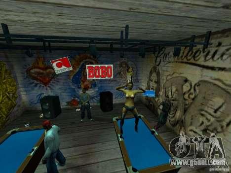 Mod Beber Cerveja V2 for GTA San Andreas ninth screenshot