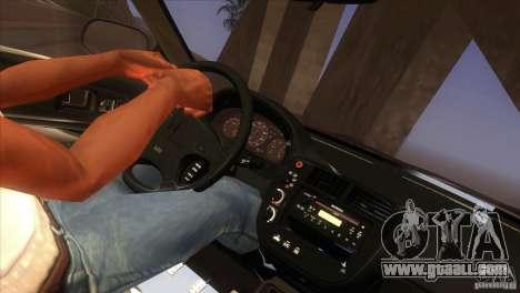 Honda Civic SI for GTA San Andreas interior