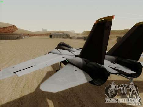 F-14 Tomcat Warwolf for GTA San Andreas right view