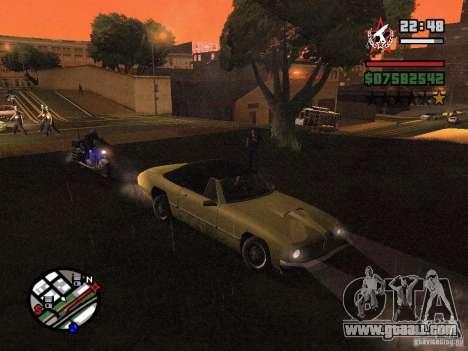 ENBSeries for GForce 5200 FX v3.0 for GTA San Andreas second screenshot