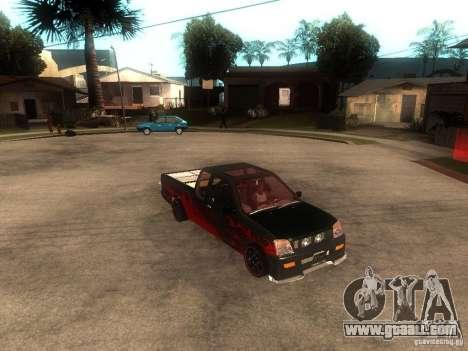 Isuzu D-Max for GTA San Andreas right view