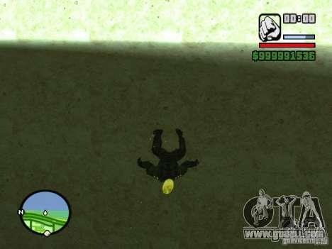 Ghost Ryder Skin for GTA San Andreas third screenshot