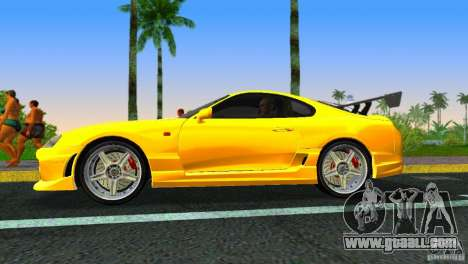 Toyota Supra JZA80 C-West for GTA Vice City right view