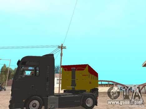 Trailer TIPPERS for GTA San Andreas back view