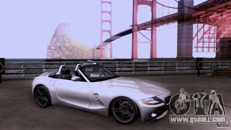 BMW Z4 V10 for GTA San Andreas