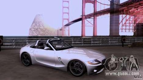 BMW Z4 V10 for GTA San Andreas