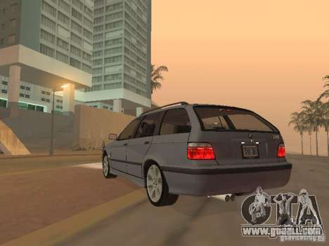 BMW 318 Touring for GTA San Andreas back view