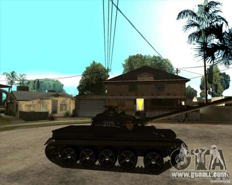 T-55 for GTA San Andreas right view