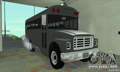 Civil Bus for GTA San Andreas left view