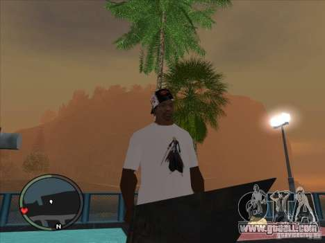 Bleach t-shirt for GTA San Andreas second screenshot