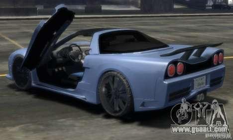 Acura NSX Veilside Fortune v 1.0 for GTA 4 left view