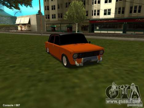 VAZ 2101 Hobo for GTA San Andreas right view