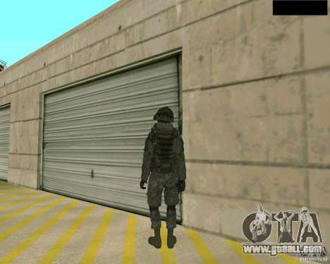 The soldier's skin from CODMW 2 for GTA San Andreas third screenshot