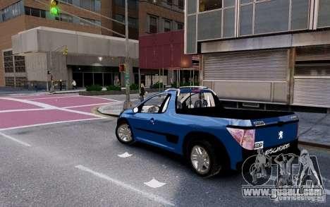 Peugeot Hoggar Escapade for GTA 4 left view