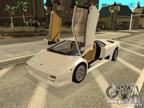 Lamborghini Diablo VT 1995 V2.0 for GTA San Andreas left view