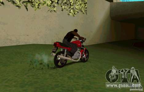 Jawa 350-638 Luxe for GTA San Andreas back left view