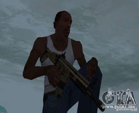 FN Scar L for GTA San Andreas third screenshot