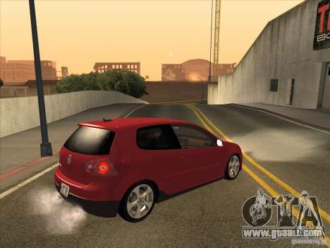 VW Golf Mk5 GTi - Stock: Tunable for GTA San Andreas right view