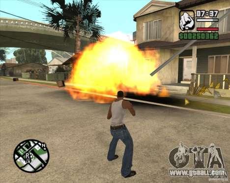 Blast for GTA San Andreas second screenshot