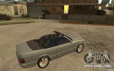 Mercedes-Benz E320 C124 Cabrio for GTA San Andreas right view