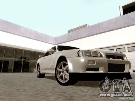 ENBSeries by Shake for GTA San Andreas