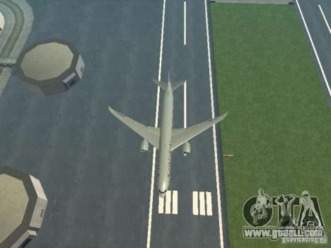 Boeing 787 Dreamliner Air Canada for GTA San Andreas upper view