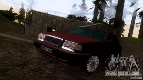 Volvo 850 Final Version for GTA San Andreas upper view