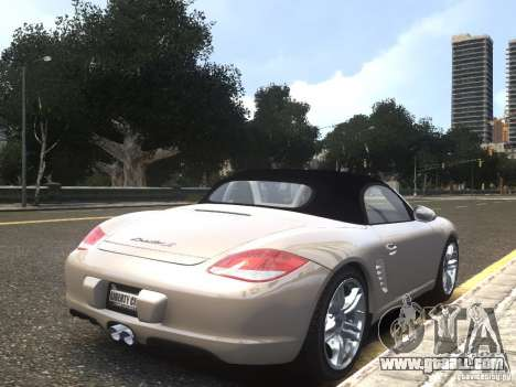 Porsche Boxster S 2010 EPM for GTA 4 left view