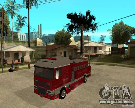 DAF XF 530 Fire for GTA San Andreas