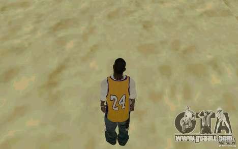 Afro-American HD skin for GTA San Andreas third screenshot