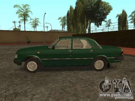 GAZ 3110 v. 2 for GTA San Andreas left view