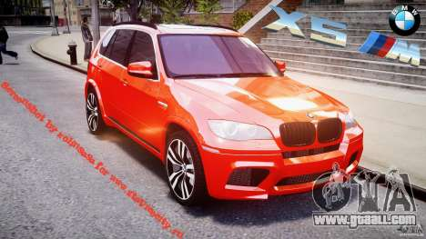 BMW X5M Chrome for GTA 4