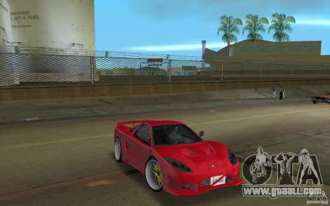 Acura NSX 2004 Veilside for GTA Vice City right view