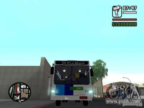 Cobrasma Monobloco Patrol II Trolerbus for GTA San Andreas inner view