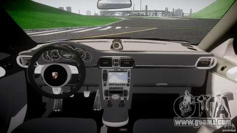 Porsche GT3 997 for GTA 4 upper view